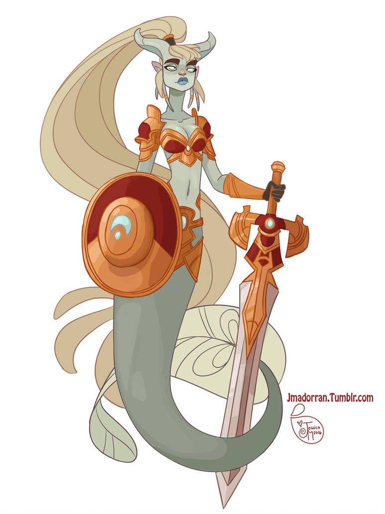 Character Design Draenei Paladin Mermaid By Meomai Desenhos Desenhos Aleatorios Desenhos Tumblr Para Colorir