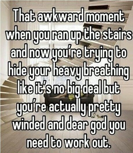 If i had stairs this would so be me