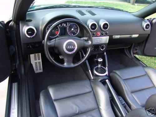 New 2001 Audi Tt Interior 2