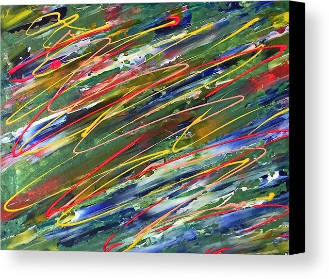 Organised Chaos Abstract Modern Art An Abstract Acrylic Painting Printed On To Premium Stretched Canvas Over With Images Abstract Painting Acrylic Abstract Paint Print