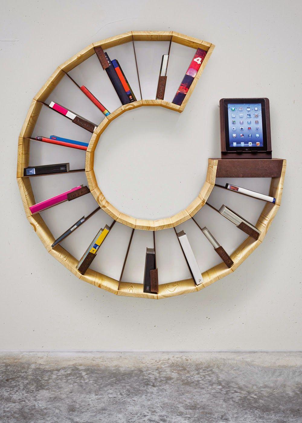 رفوف كتب بأشكال رائعة وإبداعية Unique Bookcase Bookshelves Diy Minimalist Bookshelves