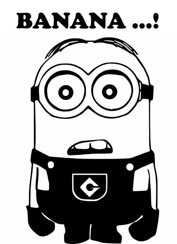 Minion Banana Laptop Car Truck Vinyl Decal By Piratevinyldecals 3 50 Car Decals Vinyl Minions Vinyl Decal Stickers