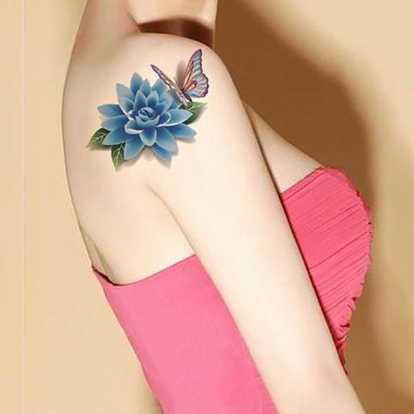 6PCS 3D Tattoo Waterproof  Stickers(BUY 1 GET 2ND 10% OFF)