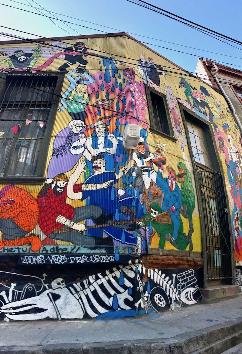Valparaiso Has The Best Street Art In The World Best Street Art