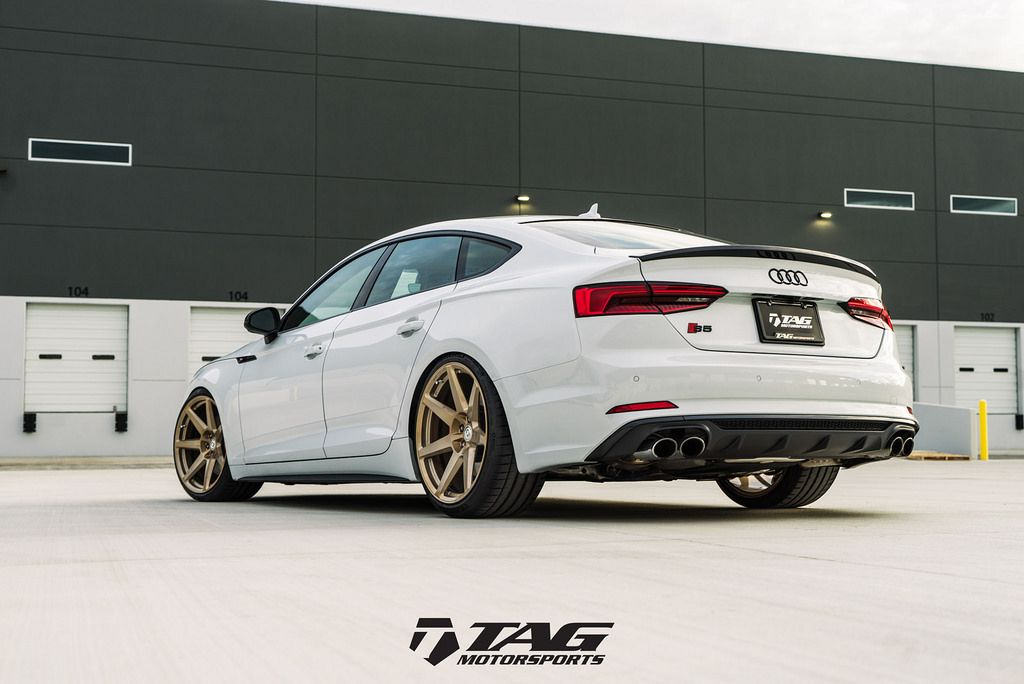 HRE Wheels | B9 S5 Sportback with HRE RS208M Wheels