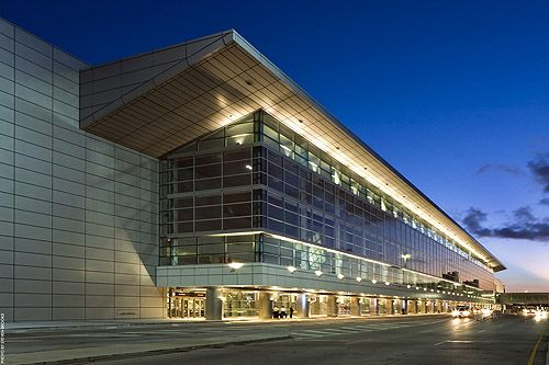 Miami International Airport South Terminal Exterior Photo By