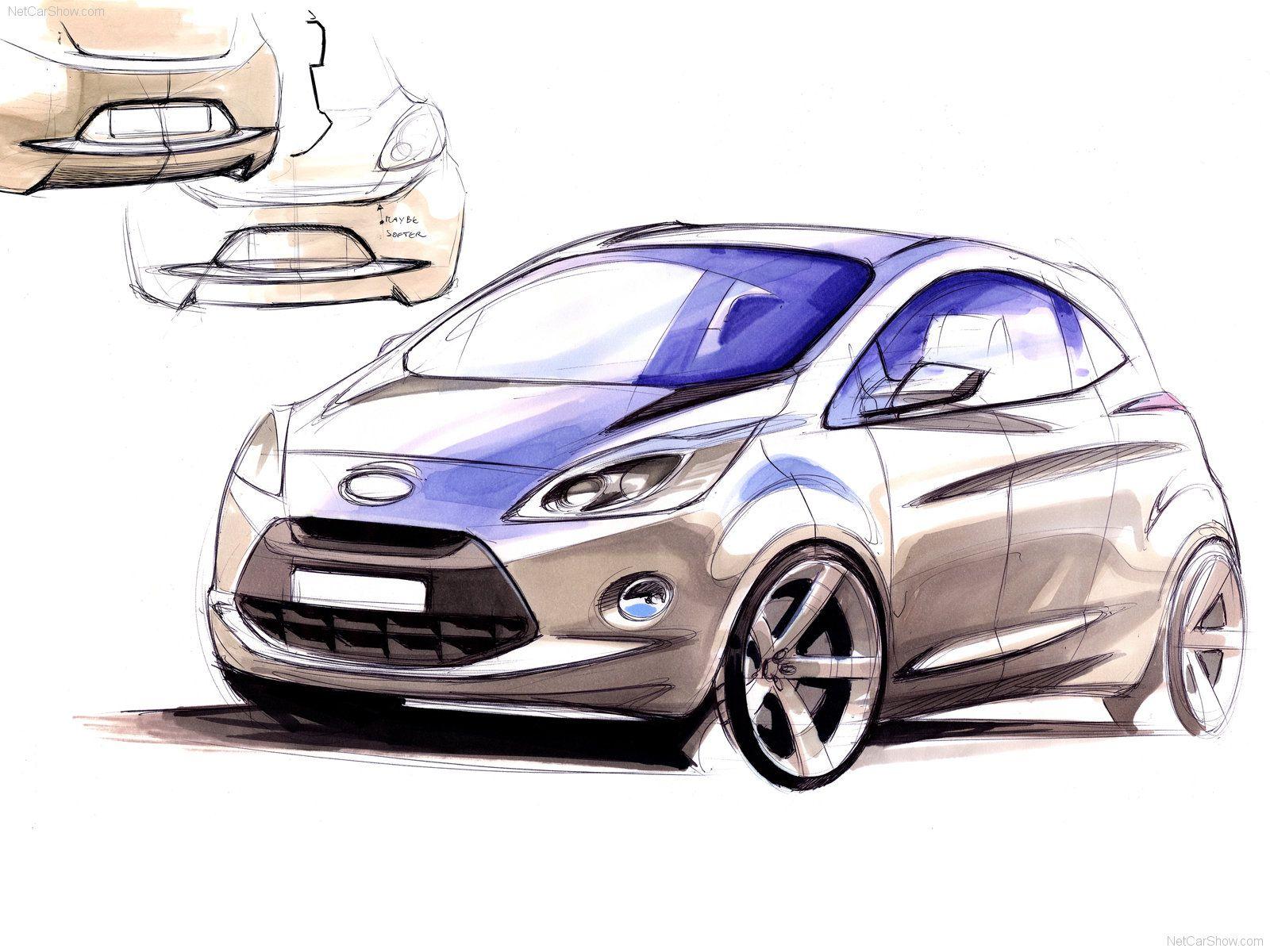 Ford Ka 2009 Desenhos