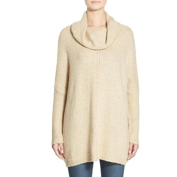 Junior Dreamers by Debut Cowl Neck Sweater ($48) ❤ liked on ...
