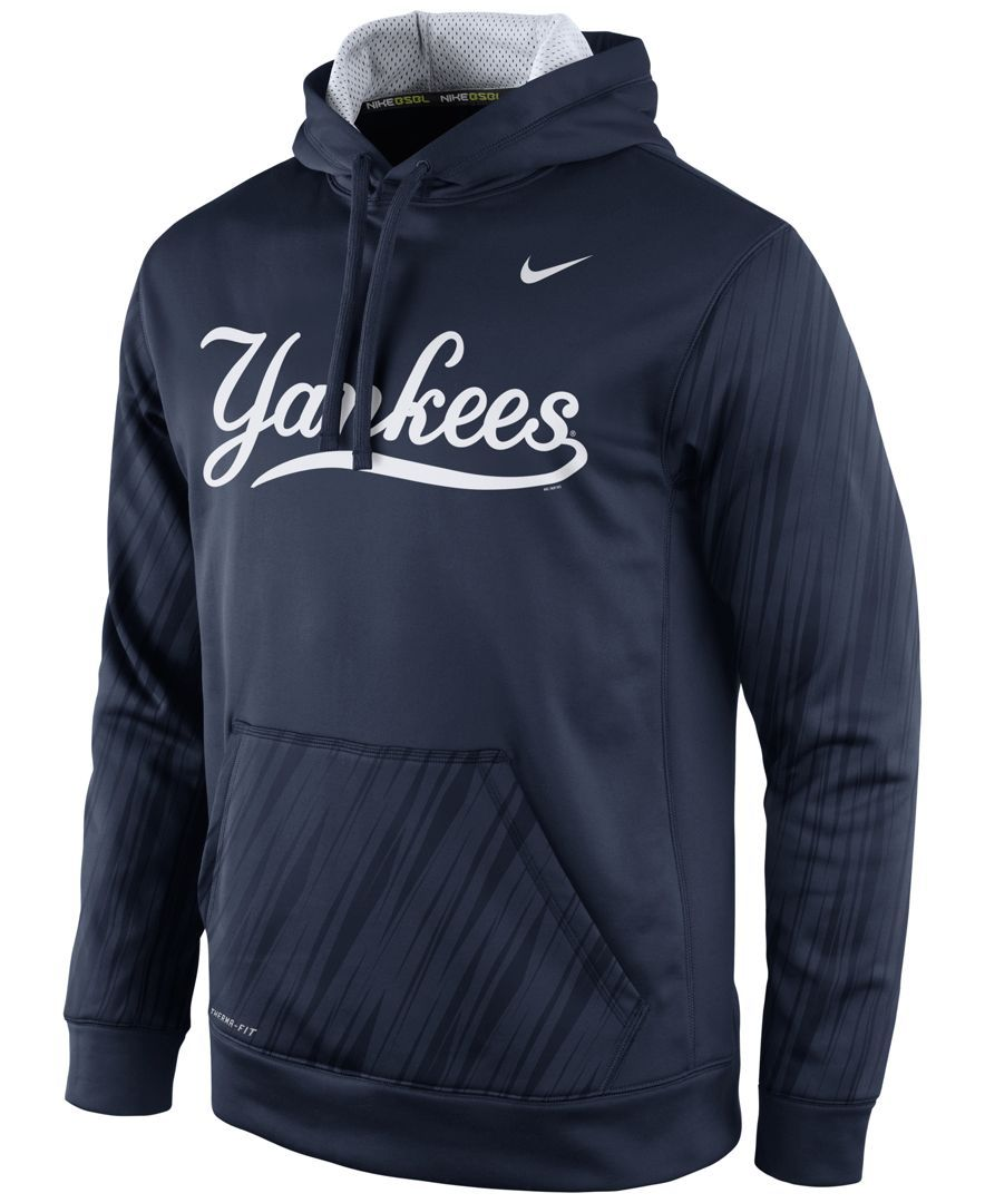 reputable site 1a7a6 171a1 Nike Men's New York Yankees Speed Ko Hoodie | Products | Red ...