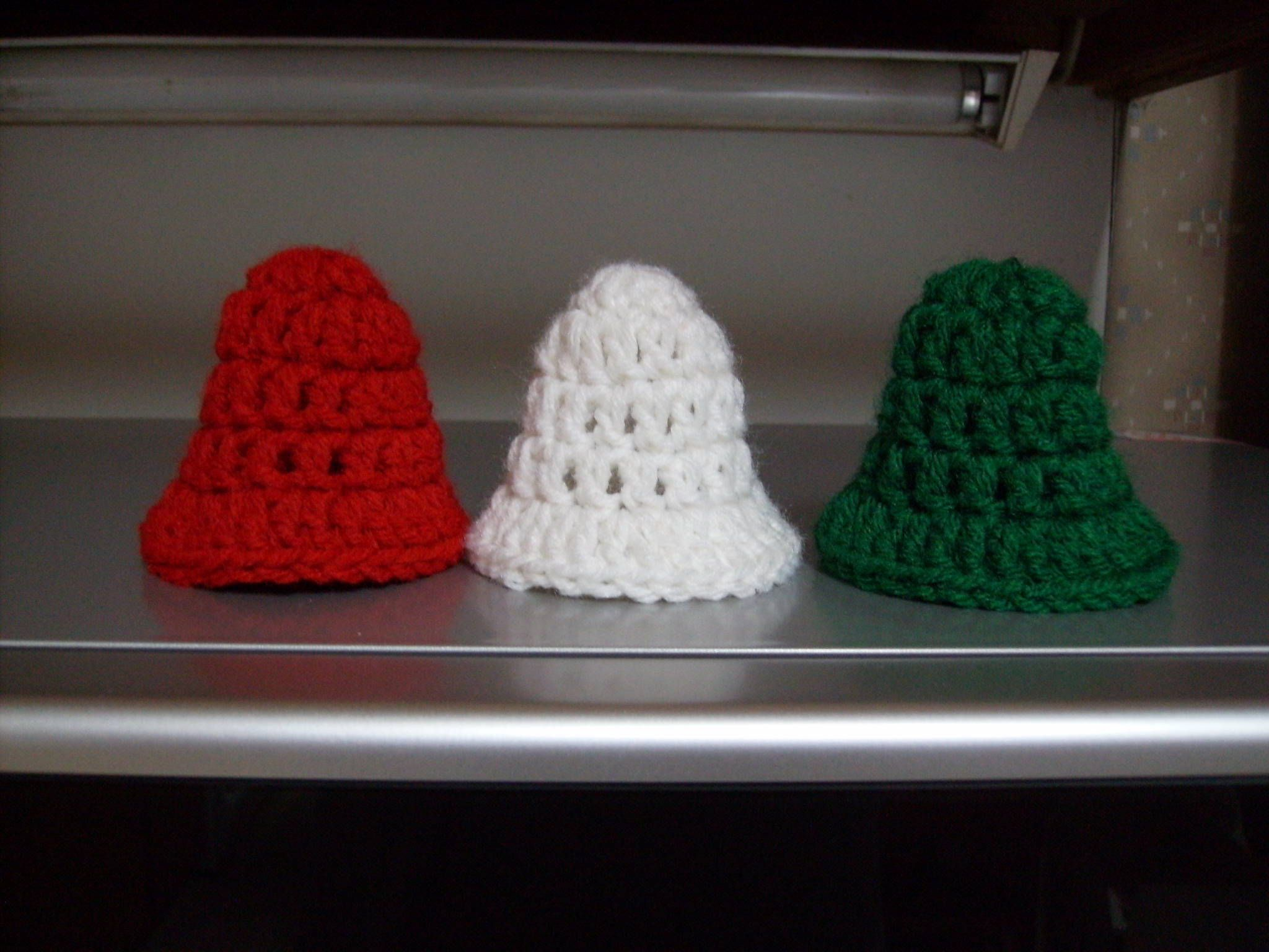 Free Five-Minute Christmas Bell Crochet Pattern - Orble | Crocheted ...