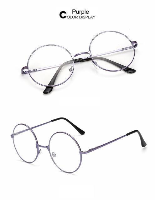 Sunglasses Retro Round Men and Women Mirror Male Female Outdoor Vintage Goggles