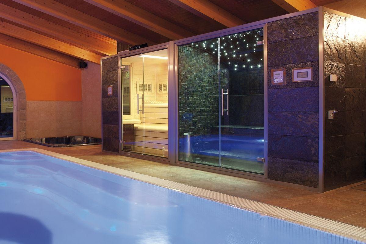 Cabina Sauna Vapor : Baño de vapor de cabina prefabricada stone line by inbeca baño