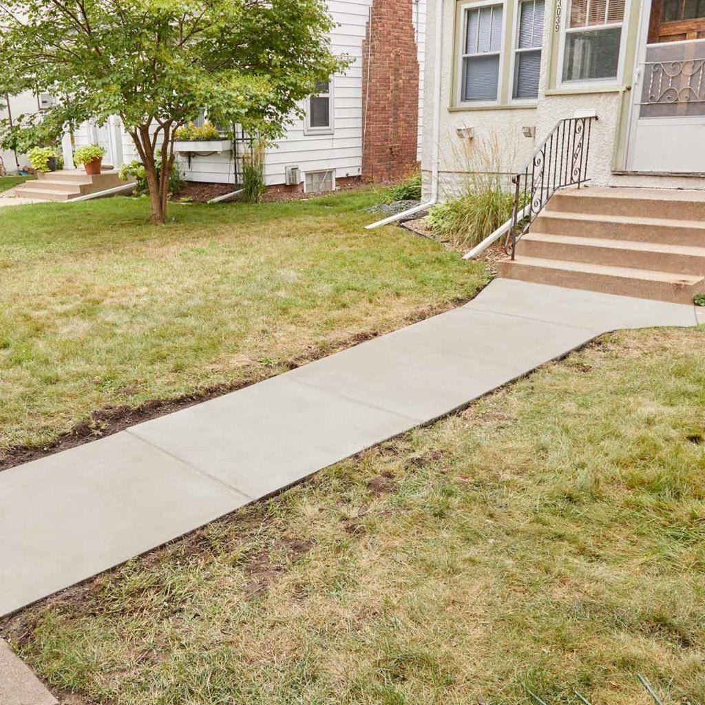 Resurfacing a Sidewalk is Easy to DIY   Diy   Sidewalk