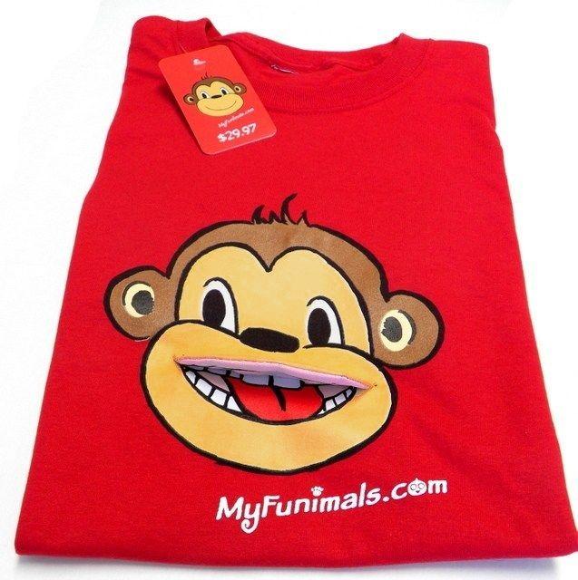 $20 MADE IN THE USA - http://www.kickstarter.com/projects/kachinafashion/my-funimals-3d-animal-t-shirts
