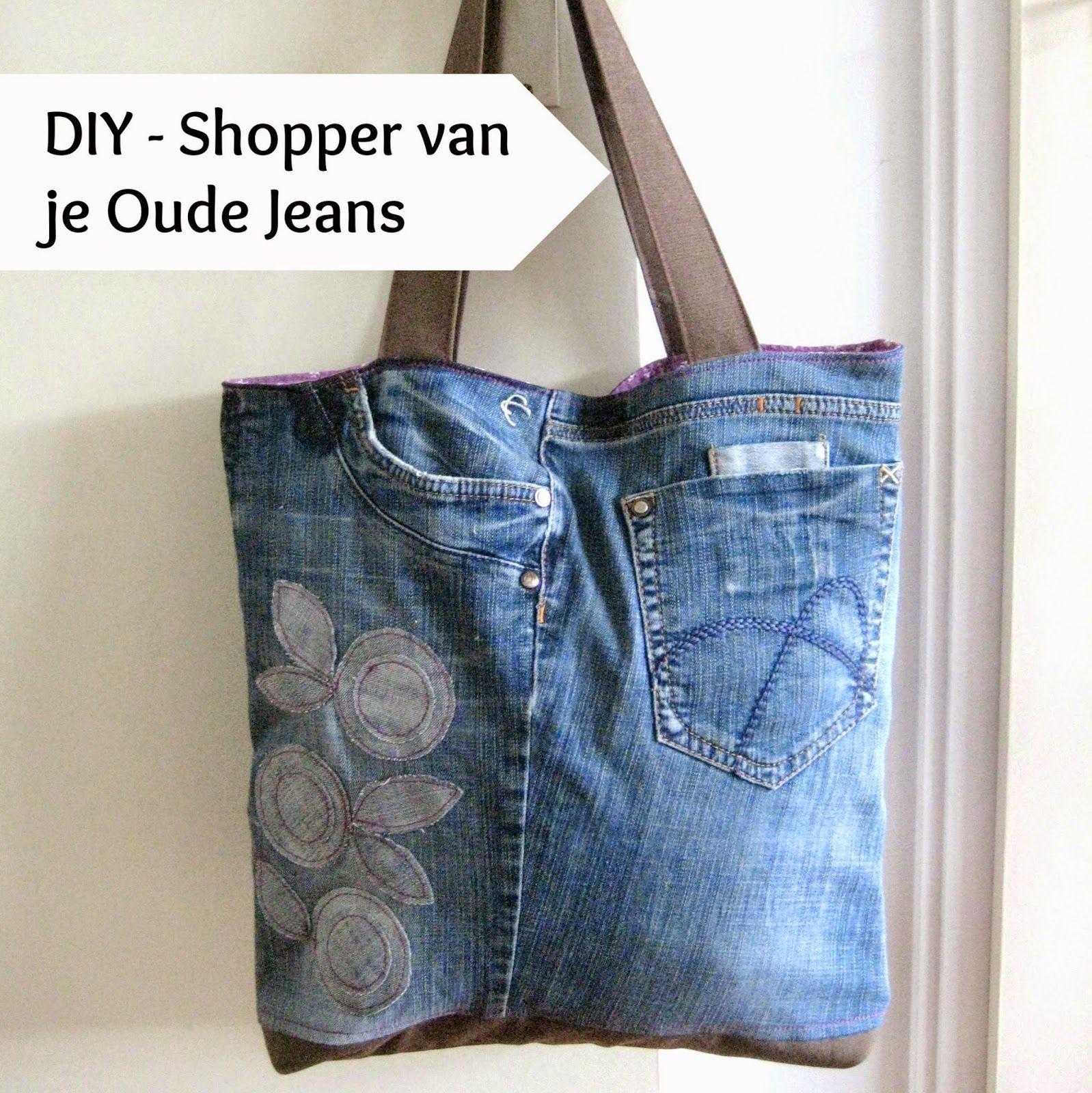Inspiratie: Tassen maken van gerecyclede Jeans (Sew Natural Blog ...
