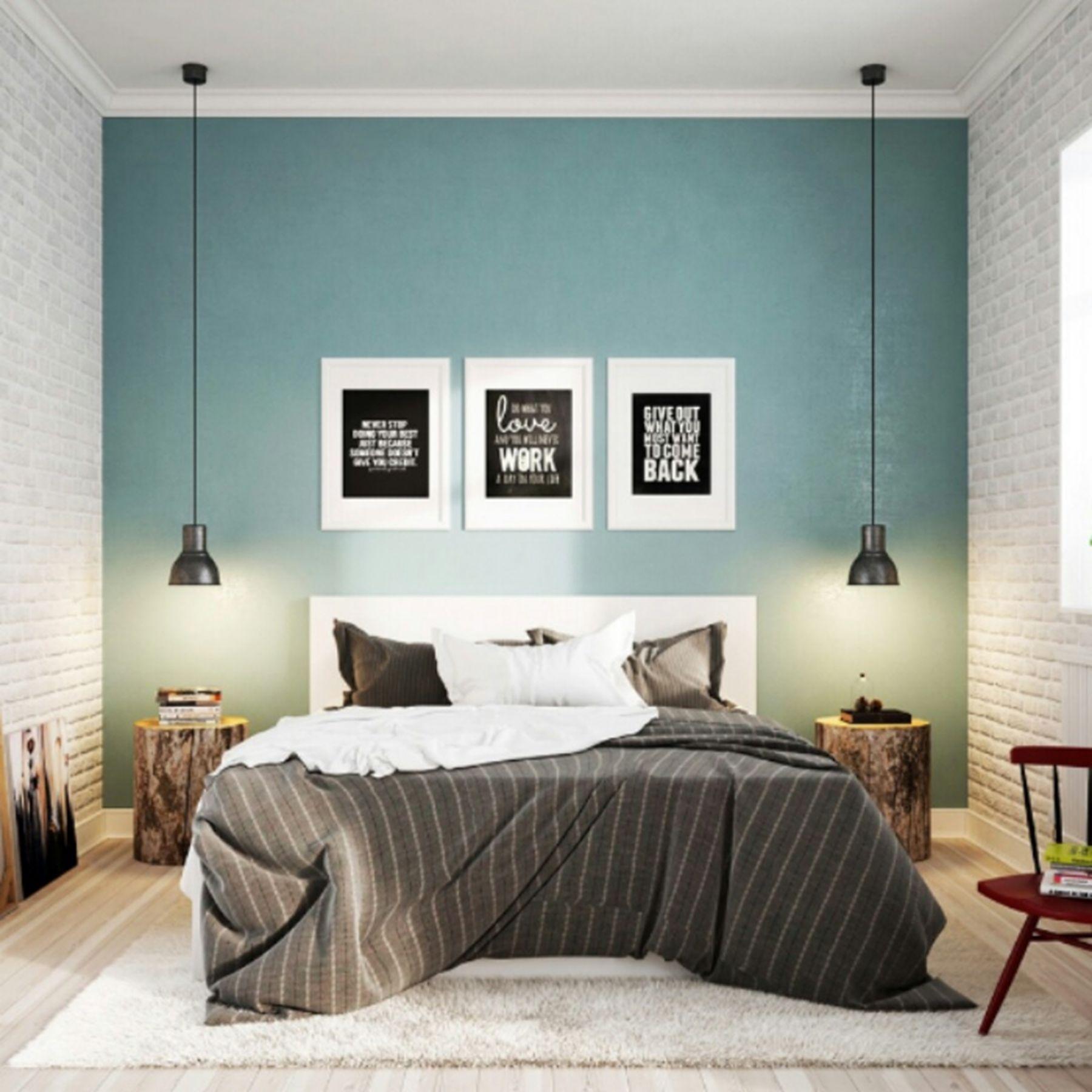 10 Fabulous Scandinavian Style Bedroom Design Ideas That Give Comfort When Sleeping Bedroom Interior Scandinavian Design Bedroom Trendy Living Rooms