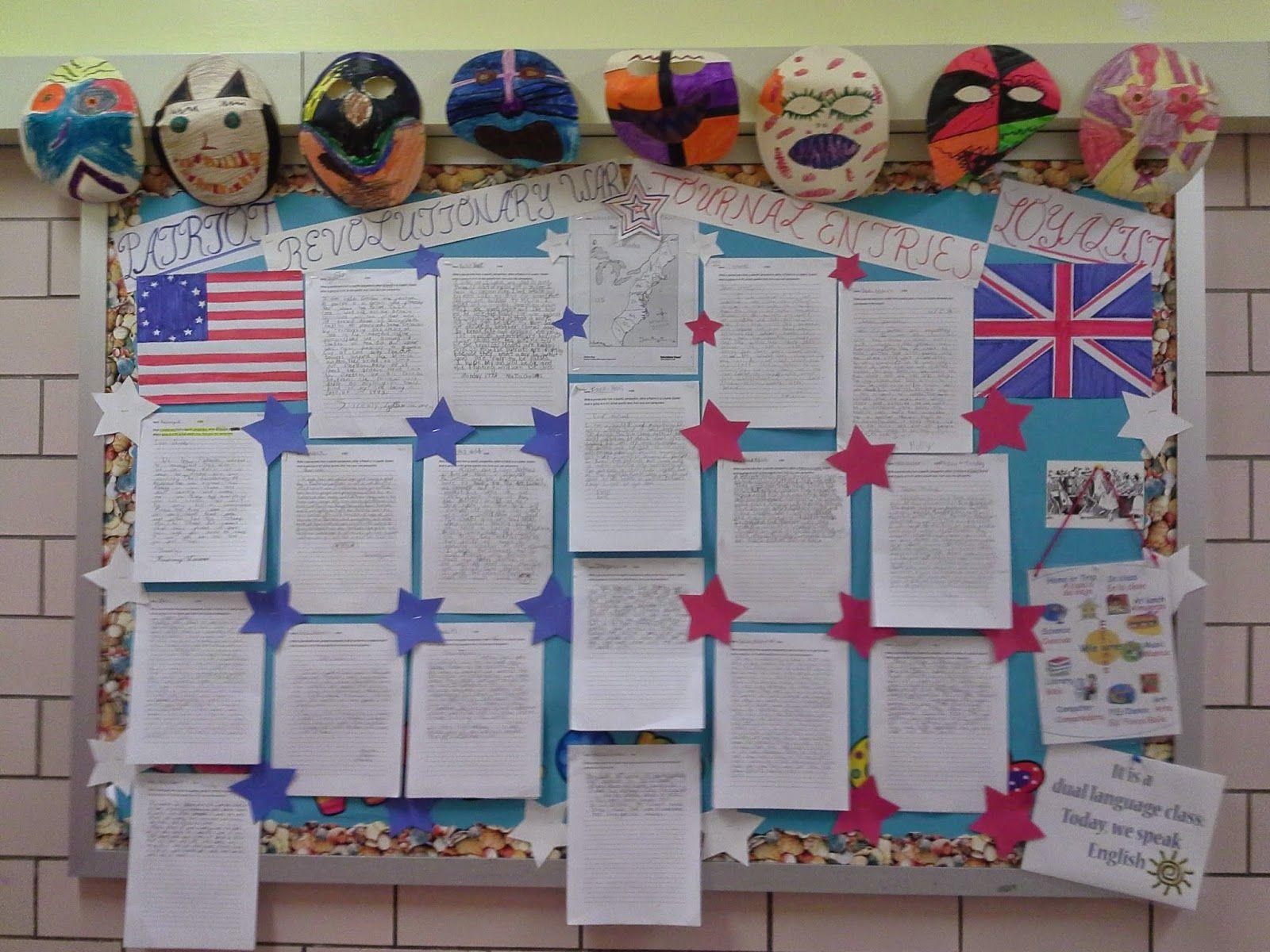 Bulletin Board Ideas For American Revolution