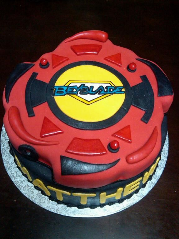 Beyblade Cake Beyblade Theme In 2019 Birthday Party