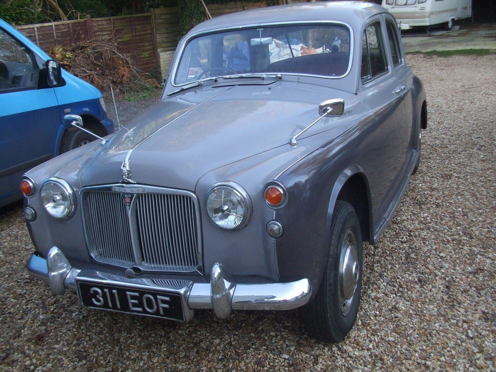 eBay: Rover P4 100. 1961. MOT. Good original condition. Transferable ...
