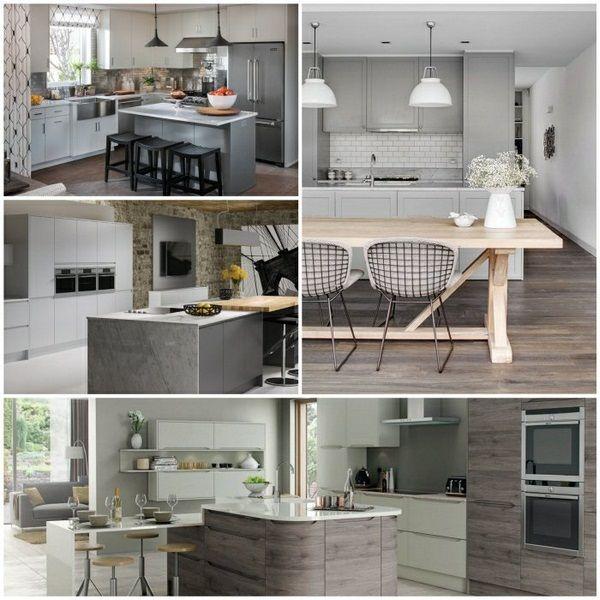 kitchens design modern kitchen modern examples cocina Pinterest
