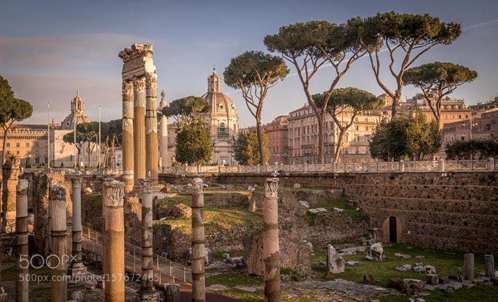 Fori di Cesare e Traiano