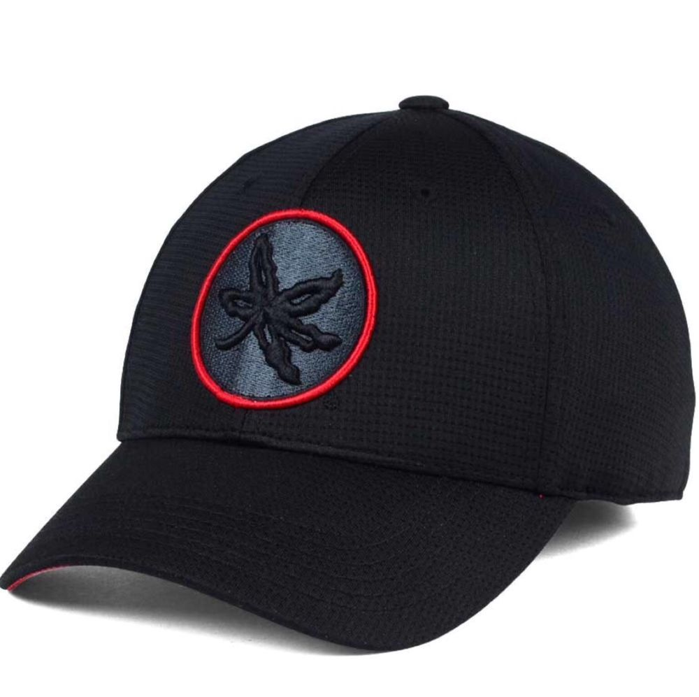 ... discount code for ohio state buckeyes j america ncaa the juke tonal m l  fitted cap hat ... 8f3001bf8900