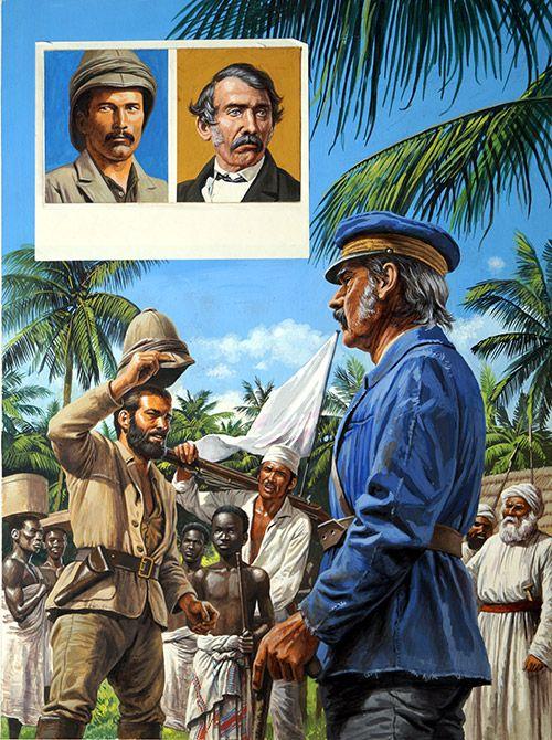 Dr Livingstone I Presume (Original) by Roger Payne at The