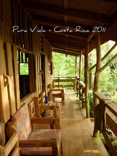 I traveled to Costa Rica in 2011, for four days we stayed at Johny´s it was amazing. Every morning I woke up and walked out onto this beautiful porch.