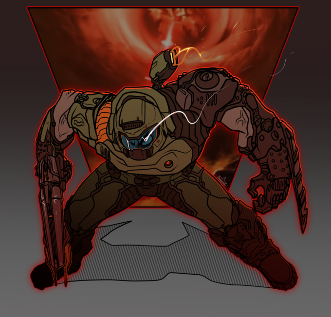 Eternal Doom Videogame Doom Slayer