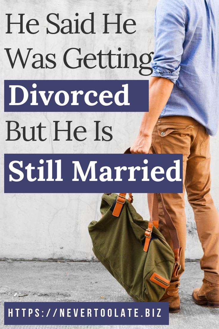 Separated and dating a married man