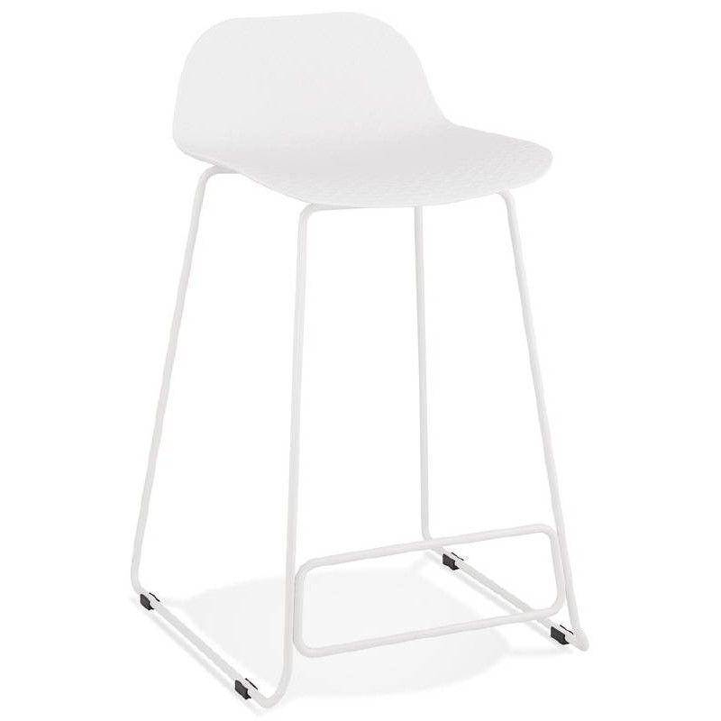 Tabouret De Bar Chaise De Bar Mi Hauteur Design Ulysse Mini Pieds