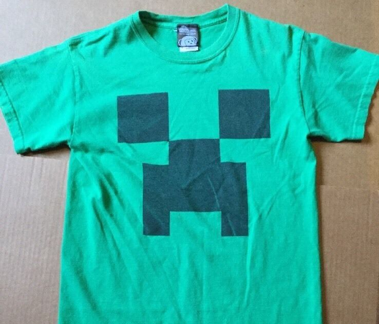Minecraft Creeper T Shirt Think Geek Officially Licensed Men S Small