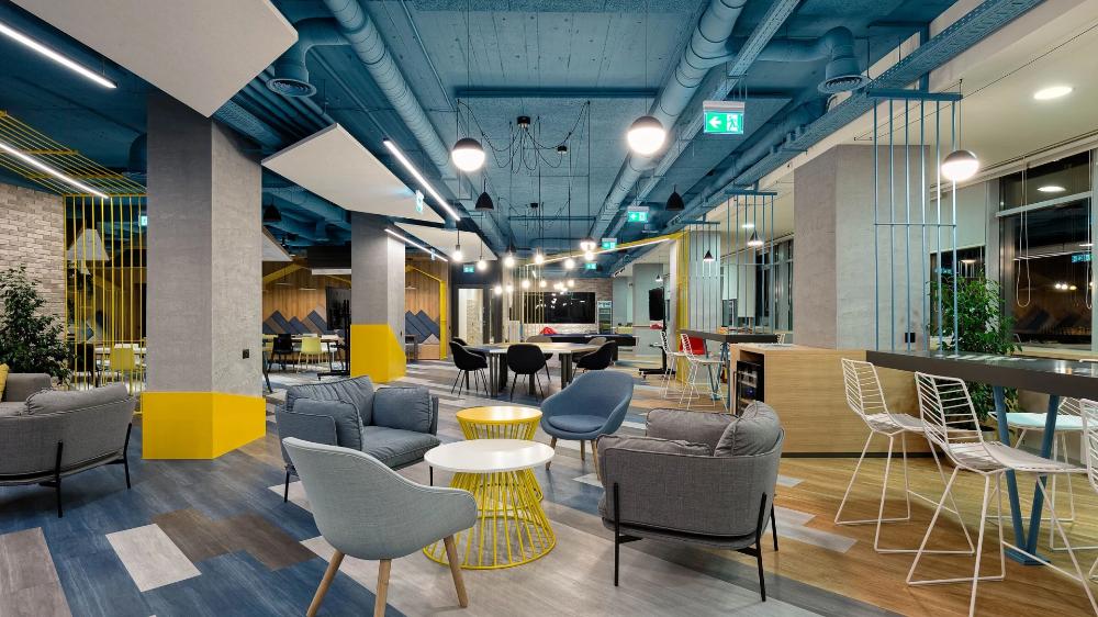 Tech Office Level 05 Rmjm Archello In 2020 Interior Design Projects Design Interior