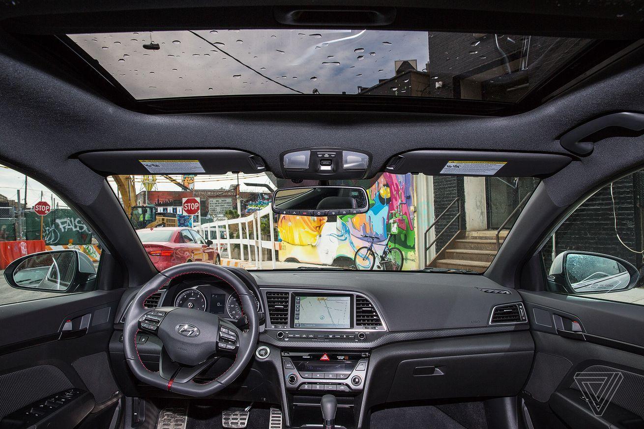 The 2017 Hyundai Elantra Sport when physical buttons make