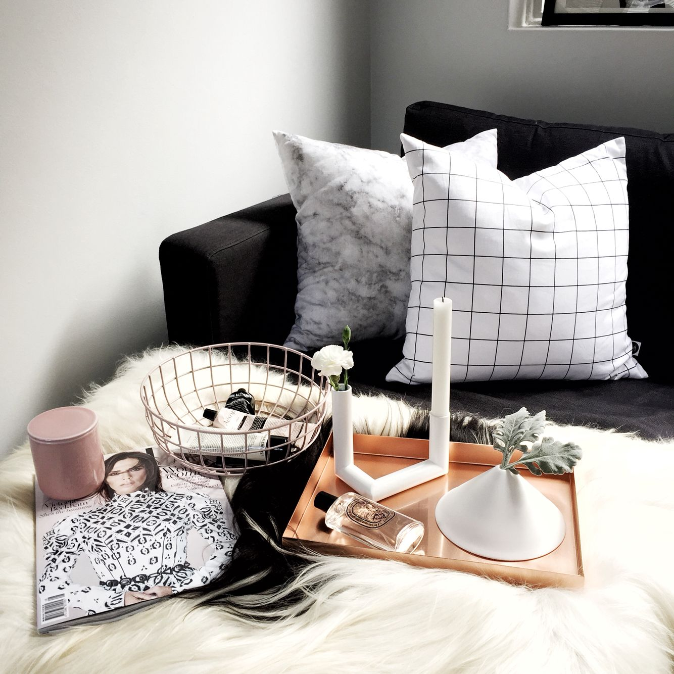 Best Copper Blush Living Room Styling Resident Gp Homewares 400 x 300