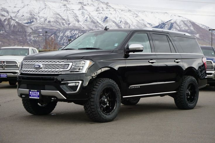 2018 Ford Expedition Platinum Lifted Suv New Expedtion Max Platinum 4x4 Ecoboost Liftedsuv Ford Expedition