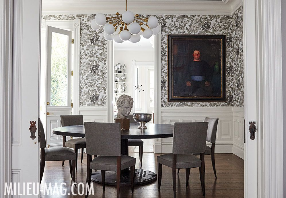New York–based designer Jennifer Vaughn Miller takes a Victorian-style townhouse in one of San Francisco's most beautiful and coveted areas to new heights.
