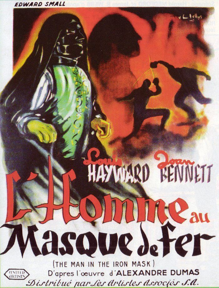 man in the iron mask 1939 full movie