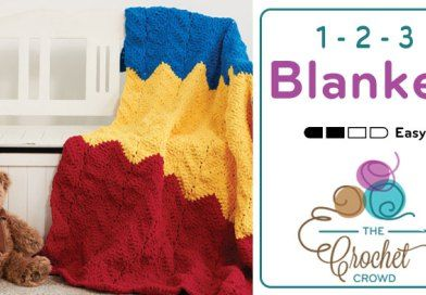 Crochet 1-2-3 Blanket + Tutorial | Yawn Dawlin' | Crochet crowd