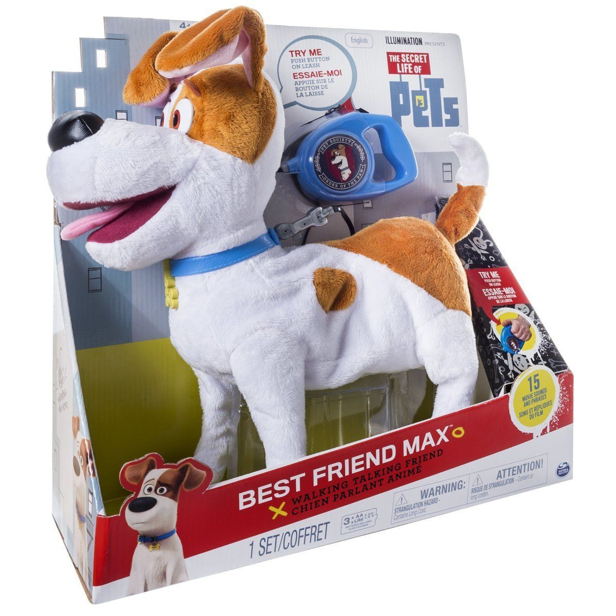 The Secret Life Of Pets Best Friend Max Walking Talking Dog Toy