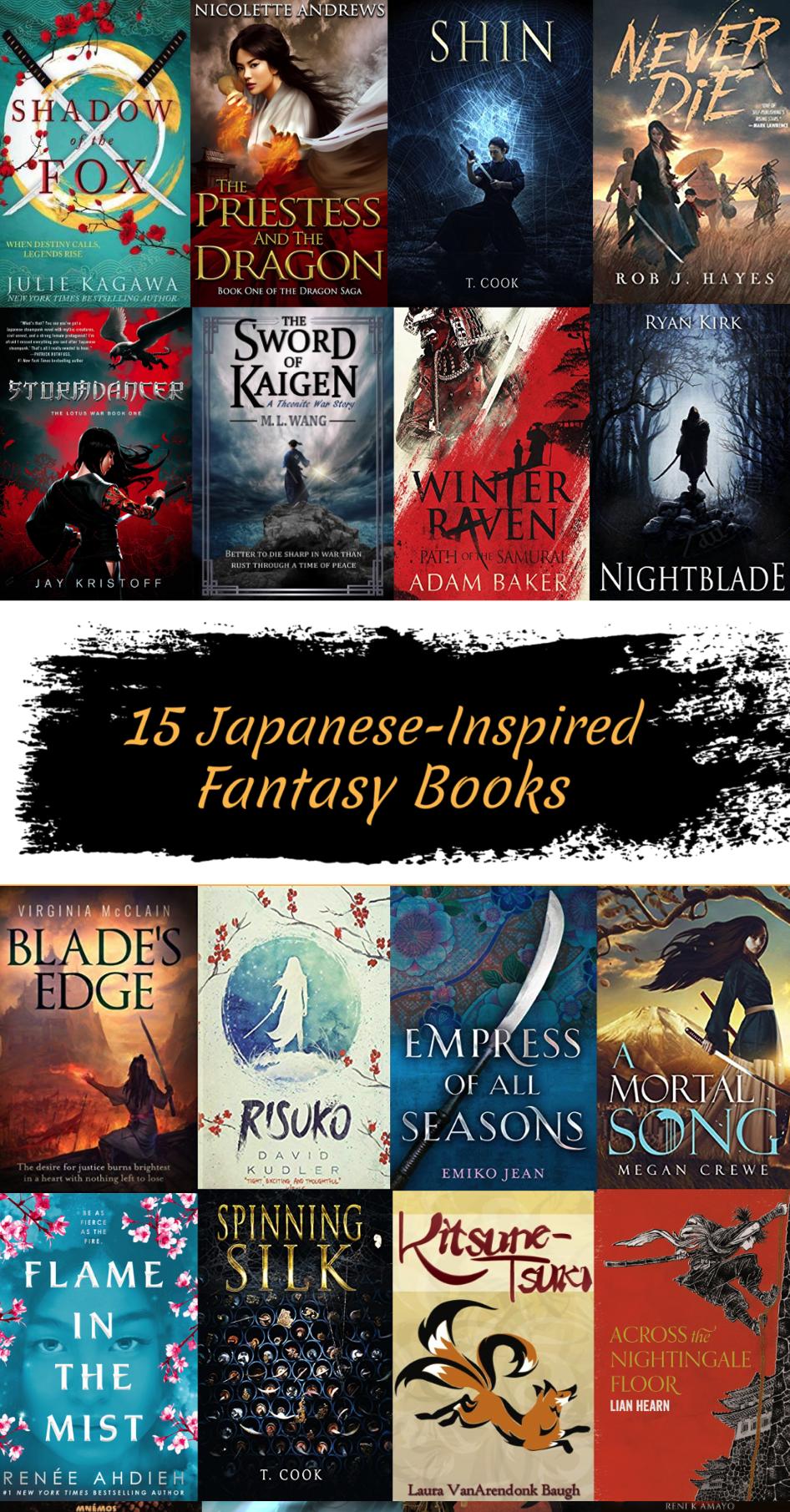 15 Japanese Inspired Fantasy Books Fantasy Books Fantasy Books To Read Ya Fantasy Books