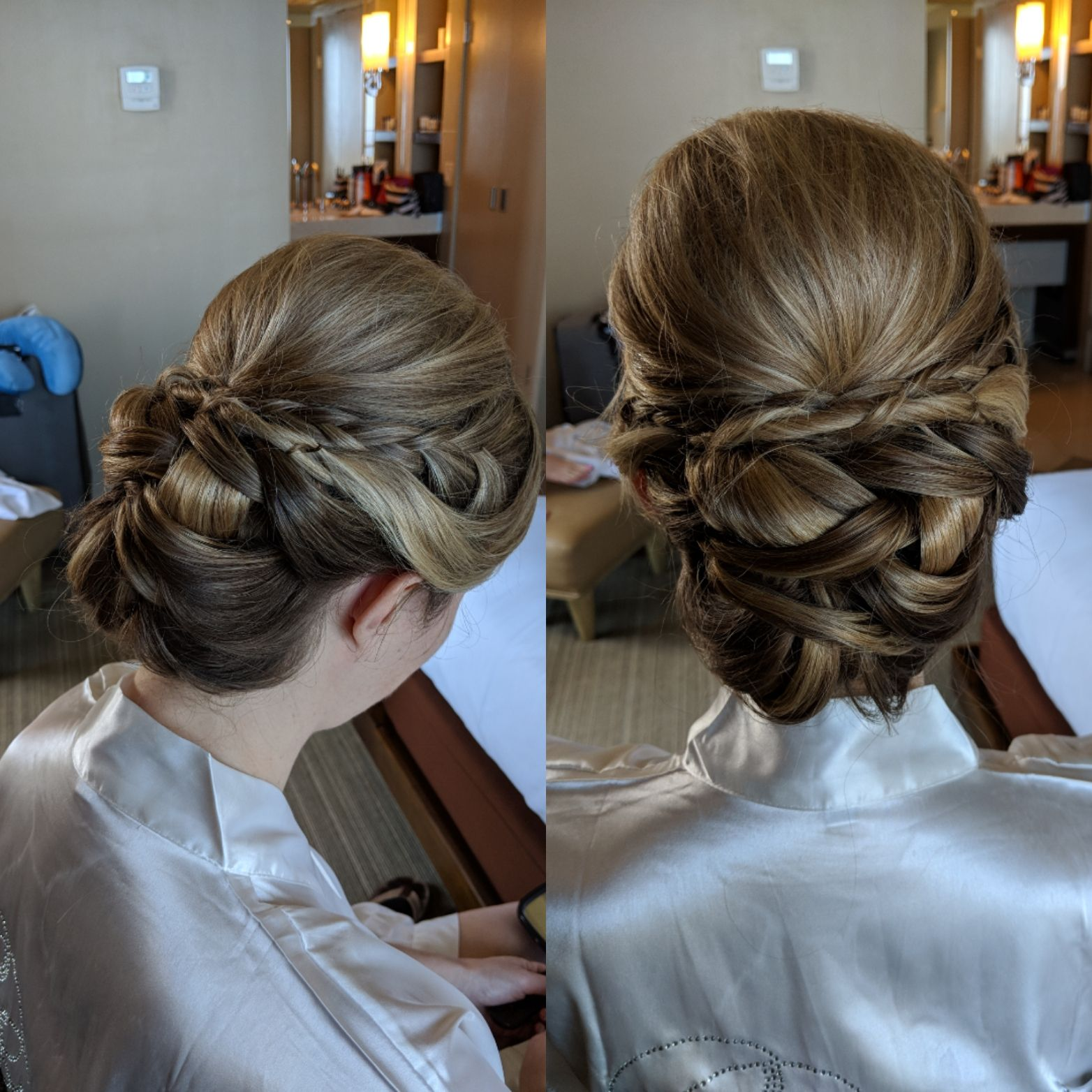 Low Twisted Bridal Updo Bridal Hair Bridal Updo Wedding Hairstyles