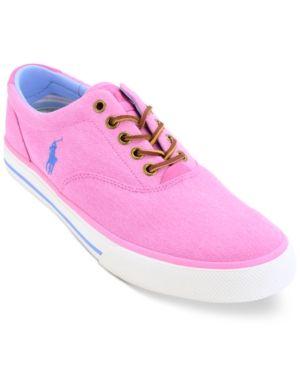 separation shoes 2fa5b ee25c Polo Ralph Lauren Men's Vaughn Low-Top Sneakers - Maui Pink ...