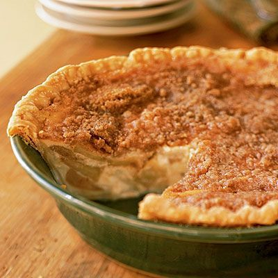 Warm Apple Buttermilk Custard Pie Desserts Desserts Custard Pie Custard Pie Recipe