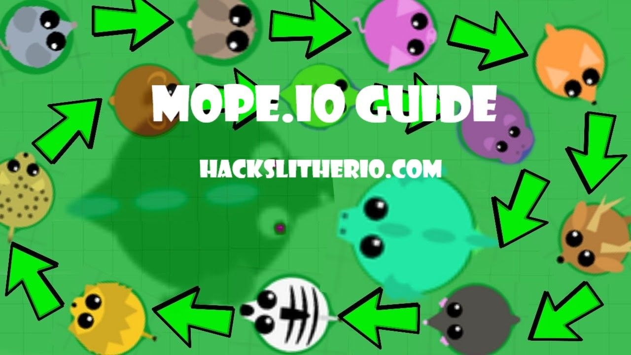 The Really User Friendly Land Creature Reference Guide Of Mope Io Slither Io Hacks Mods Skins Tricks Extensions Hackslitherio Com