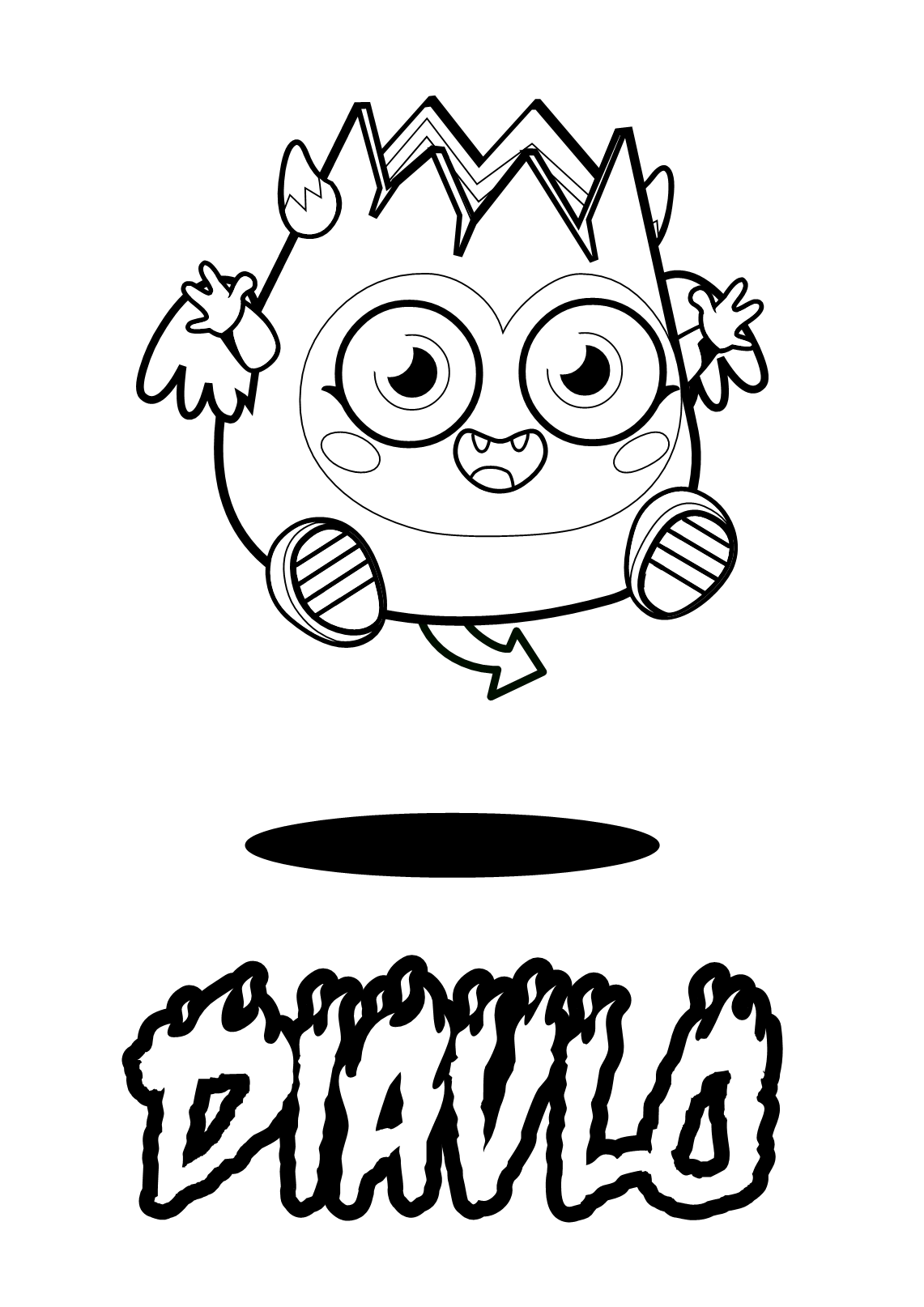 Get Out Your Crayons Because It S Art Time Print Out Your Very Own Colouring Pages Diavlo Monster Coloring Pages Coloring Pages For Kids Moshi Monsters
