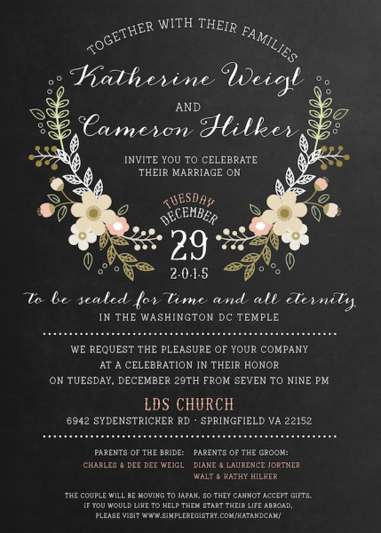 I Love This Only Gray Backround And My Colors As The Flowers Wedding Invitation Wording