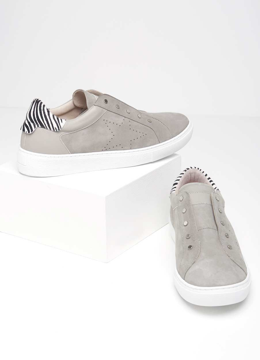 Suede trainers, Grey trainers, Velvet shoes