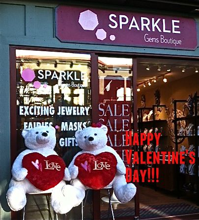 SALES and Specials - it's a Valentine's Day festivity! @Sparkle Sedona.com