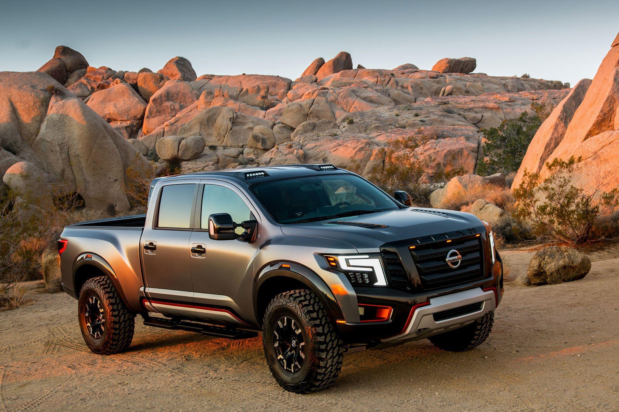 Nissan titan xd warrior concept truck detroit auto show